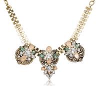 2014 Fashion Shourouk Chain Chunky Choker Statement Necklaces & Pendants Fashion Fower Necklaces Women