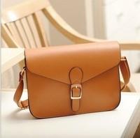 Hot Casual Vintage Womens PU Leather Crossbody Satchel Shoulder Messenger Bag Handbag
