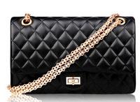 Top Quality Brand New Fashion Plaid Chain Bag Women Small Handbag Day Clutch Cross-body Messenger Bags