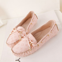 2014 women's shoes four seasons flat loafers gommini dipper shoes flat heel single shoes wool cotton-padded shoes maternity