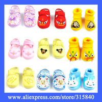 1pair New 2014 Lovely Cute Cotton Soft Soled  First Walkers Baby Shoes Children Boys Girls Shoe Bebe Sneakers -- BZ06