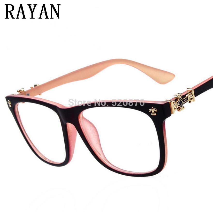 Handmade Glasses Frames : HOT cross glasses frame men women handmade frame ...