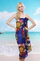 New 2014 Bohemia Stlye Beach Cover Ups Women Sunscreen Guards Swimsuits Eye-catching Bathing Suit Cover-Ups Dropshipping