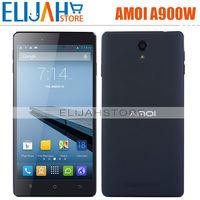 Amoi A900W MTK6582 Quad Core 3G smart phone 5.5'' IPS 1280*720 1GB RAM 8GB ROM Android 4.2 BT GPS FM Dual Camera Original