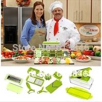 Free shipping Multifunctional kitchen shredder machine Household cooking tools Nicer Vegetable Chopper/Fruit Slicer As on TV