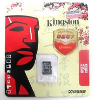 Free shipping! Promotion Kingston Original SDC4 Micro SD card class 4 SD HC Transflash TF CARD USB 2.0 memory card