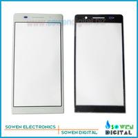 Original new Outer LCD Screen Lens Top Glass for Huawei Ascend P6,White,Free Shipping,