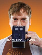 Doctor Who: Tardis Mug Ceramic Mug With Removable Lid Cup(China (Mainland))