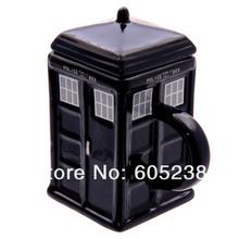 Doctor Who Tardis Mug Ceramic Mug With Removable Lid Cup