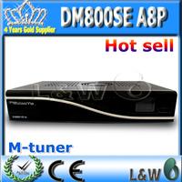 Satellite TV Receiver Dm800SE hd a8p Card  M tuner linux system decoder dm800se a8p FEDEX Free Shipping