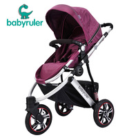 free shipping Babyruler baby stroller baby car tricycle folding baby stroller light  new 2014 wholesale