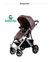 free shipping Babyruler baby stroller baby car four wheel folding light baby stroller  new 2014 wholesale hot sale