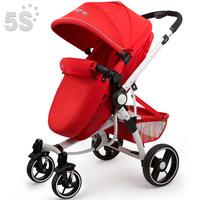 free shipping Ibaby baby stroller two-way folding bb four wheel car baby stroller buggiest  new 2014 hot sale wholesale
