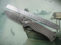 "Wanderful Quality  Free shipping MG brand Bliztwing ""Lightning"" knife   D2 steel bearing  folding knife  Camping Tool"