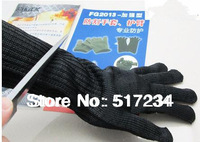 New 2014 Hot Sell High Quality Professional Long Cut-resistant Gloves Self-defense Gloves Outdoor Sports Equipment Free Shipping