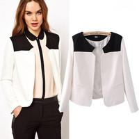 New 2015 Spring Casual Blazer Women Coats Lady Suit Blazer Feminino Suits For Women Blazers And Jackets Blaser Feminino Coat