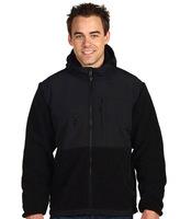 outdoor hooded patchwork high quality high quality fleece shirt outerwear men fleece jacket