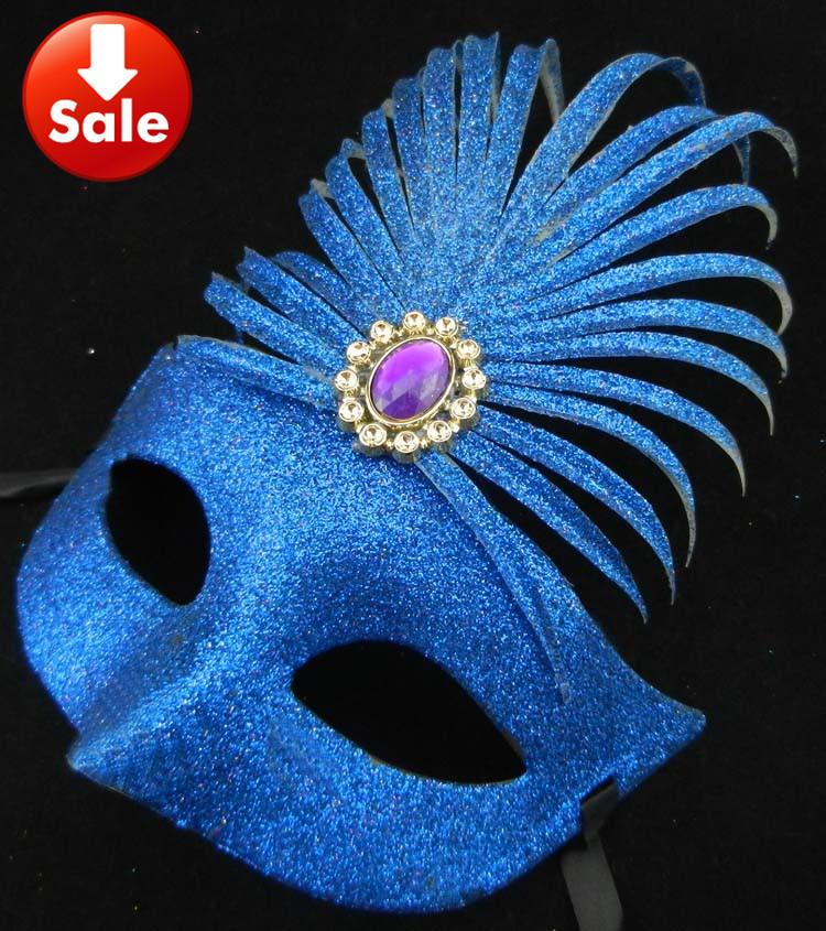 na venda de diamantes em ouro traje completo festa de carnaval máscara de princesa sexy lady presente de casamento prop frete grátis 50pcs / lot(China (Mainland))