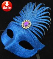 on sale full gold diamond party mask halloween costume sexy venetian masquerade ball decoration free shipping 100pcs/lot