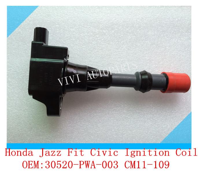 OEM:30520-PWA-003 CM11-109 Auto Ignition Coil for Honda,Jazz,Fit,Civic 30520-REA-Z01(China (Mainland))