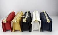 Women's handbag camellia le boy plaid vintage chain bag leboy women's handbag bag 002