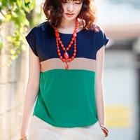 new 2014 Summer women blouses clothing fashion women clothes 2014  ladies chiffon blouse femininas shirt roupas femininas bodi