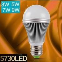 Free shipping Dimmable Bubble Ball Bulb 3w 5w 7w 9w  E27 Ball Steep light Globe light LED Light Bulbs Lamp Lighting
