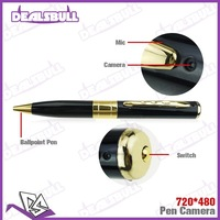Mini Pen Camera DV DVR Hidden Digital Video Recorder Cam Camcorder 720*480 Support TF Card With Retail Package