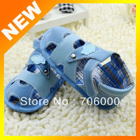 2014 New Spring Baby Shoes infant first walking shoes Autumn baby toddle shoes Light blue color soft bottom prewalker shoes