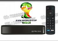 Maige tv HD2 iptv box HD player Wifi Brazil World Cup Live Gift wireless card DHL free shipping
