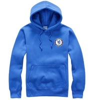2014 Brilliant Football Premier League Hoodies Fleece Hood Pullover Sweatshirt Men's Outerwear(Blue&Black&Grey&Red&White)