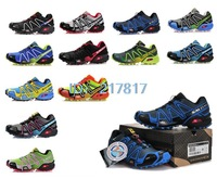 Free Shipping New Salomon Speedcross 3 Men Athletic Running Shoes solomon tenis Zapatillas Hombres de correr salamon
