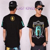 LK last kings brand new 2014 hip hop asap rocky rockstar rock music hiphop mma john john hba geek t shirt men shirts 3D t-shirts