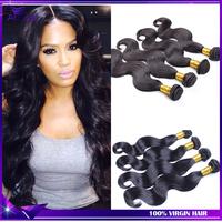 Malaysian Virgin Hair Weaves 3Bundles 300grams 7A Malaysian Body Wave Can Be Dyed More Wave100% Human Hair Free Shipping