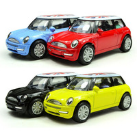 metal Diecast MINI model car  pull back 1:43 kids toys car hobbies & Children's toys Toy Vehicles wholesale