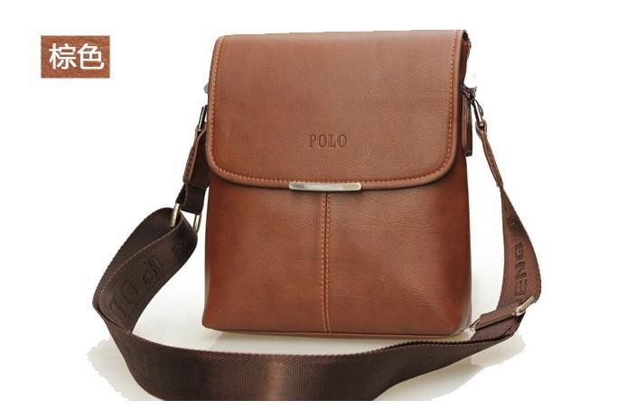 2014 men polo bag burst, men's single shoulder shoulder strap, business recreation bag, the bag wholesale(China (Mainland))
