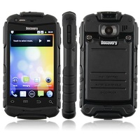 Discovery V5+ V5W A129W Phone Android 4.2 MTK6572W 1.0GHz 3G GPS WiFi 3.5 InchCapacitive Screen Dustproof Shockproof Smart Phone