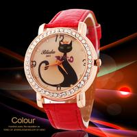 2014 New Brand Women Dress Watches Fashion Bracelet Quartz Watch Ladies Rhinestone Wristwatches relogio QZ3547