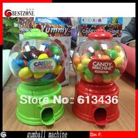 free shipping wholesale Mini Twist sugar machine candy dispenser kids' faviorite gift,sweet mini bubble gum machine  Lovely gift