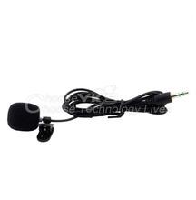 1 pc mini 30hz~15000hz 3.5mm lavalier de solapa empate clip en micrófono enseñanza para conferencias(China (Mainland))