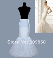 free shipping  hot  Mermaid Style   in stock  bridal wedding petticoat