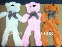 low price Teddy bear plush toys coat Factory Price 100CM holesale bear shell 4 COLOR Teddy bear plush toys coat free shipping