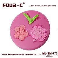 Flower Designs fondant mould,silicone sugarcraft decorating mould