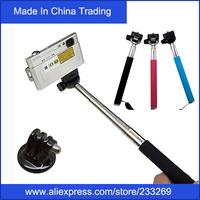 Extendable Aluminium Handheld Monopod Tripod + Gopro Mount Adapter Gopro Tripod Accessories For Gopro HD Hero 1 2 3 Camera