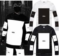 Hot Sale New Shirts 2014 Fashion HipHop Streetwear Men Women Tees Hood by air hba x been trill yeezy ptrex Long-sleeve T-Shirts