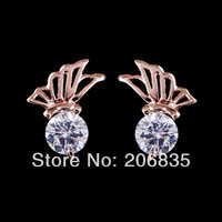 Butterfly Earrings Design AAA+ Swiss Cubic Zirconia Wings Earrings For Women For Party/Weddings