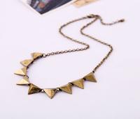Fashion accessories trigonometric the trend of punk vintage necklace female pendant necklaces pendants best friend