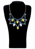 Fashion fashion accessories candy color short design necklace pendant necklaces pendants best friend