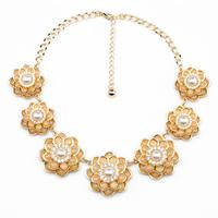 Fashion fashion accessories all-match flower pendant women's necklace pendant necklaces pendants best friend