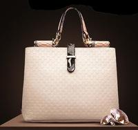 High Quality Fashion Women Handbag Crocodile Grain Pattern Ladies' Leather Messenger Totes Shoulder Bag Purse